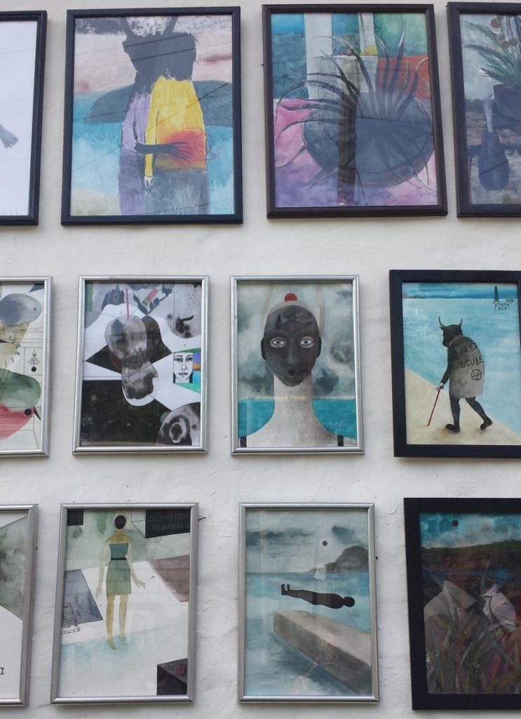 Игорь Селеменев 16-ая Подзаборная Выставка